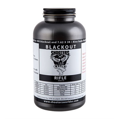 Click here to buy Blackout Powder by Shooters World.