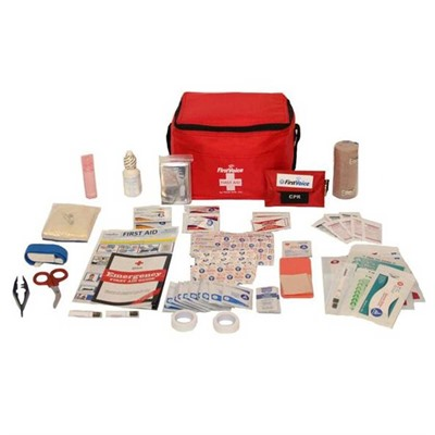 Basic Hiking and Outdoor First Aid Kit by Think Safe Inc