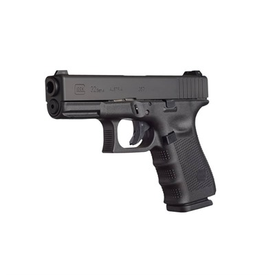 Click here to buy G32 G4 4.02in 357 Sig Gas Nitride 13+1rd by Glock.