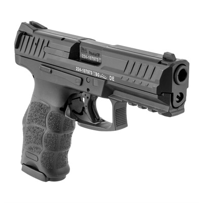 Vp9 4.1in 9mm Black Black Polymer 3 Dot Sight 15+1-Round by Heckler & Koch