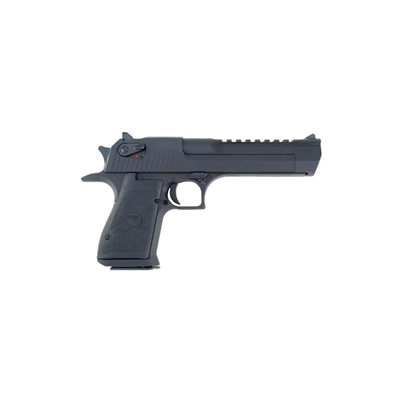Desert Eagle Mk Xix6in 50 Ae Black Black Rubber Fixed 7+1rd by Magnum Research