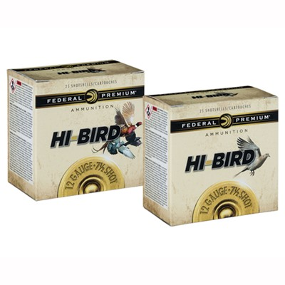 Hi-Bird Ammo 12 Gauge 2-3/4 & Quot; 1-1/4 Oz 6 Shot by Federal