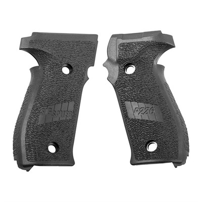 Grip Set, Black Polymer by Sig Sauer