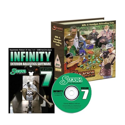 Reloading Manual-5th Edition and Infinity Software-Version 7 by Sierra Bullets, Inc.