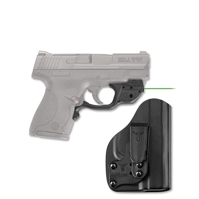 S & w/ Shield 9/40 Laserguard with Blade-Tech Iwb Holster by Crimson Trace Corporation
