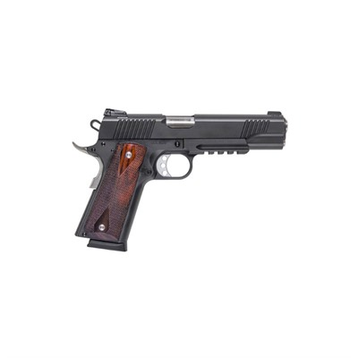 Desert Eagle Rail 1911 5in 45 Acp Matte Black Wood Fixed 8+1rd by Magnum Research