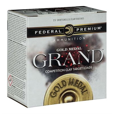 Gold Medal Grand Ammo 12 Gauge 2-3/4 & Quot; 1-1/8 Oz Lead Shot by Federal