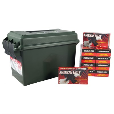 American Eagle Ammo 9mm Luger 124gr FMJ Ammo by American Eagle
