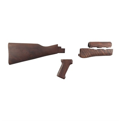 AK-47 Stock Set Fixed Wood by Minelli S.p.a.