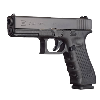 Click here to buy G31 G4 4.49in 357 Sig Gas Nitride 15+1rd by Glock.