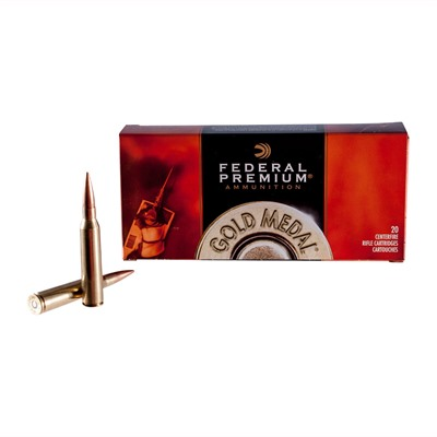 Gold Medal Match Ammo 223 Remington 77gr Bthp by Federal