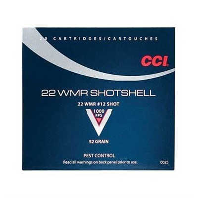 Shotshell Ammo 22 Long Rifle 12 Shot by Cci