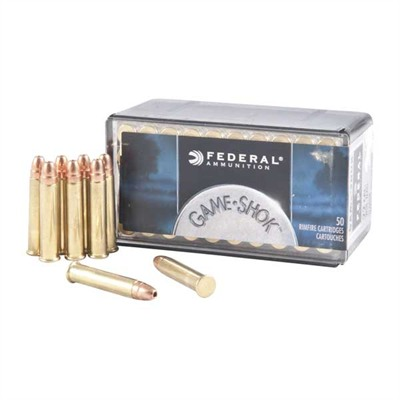 Game-Shok Ammo 22 Magnum (Wmr) 50gr Jacketed Hollow Point by Federal