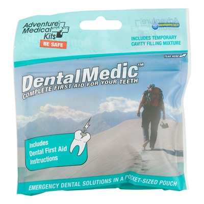 Click here to buy First Aid and Emergency: Dental Medic by Adventure Medical Kits.