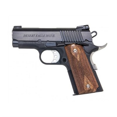 Desert Eagle 1911 3in 45 Acp Matte Black 6+1rd by Magnum Research