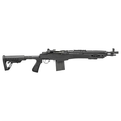 M1a Socom 16in 308 Win Blue Black Polymer Aperture Sights 10+1rd by Springfield Armory