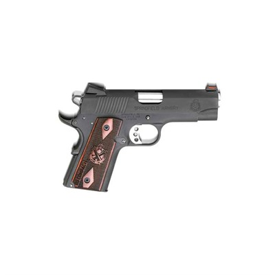 Range Officer 4in 45 Acp Black 6+1rd by Springfield Armory