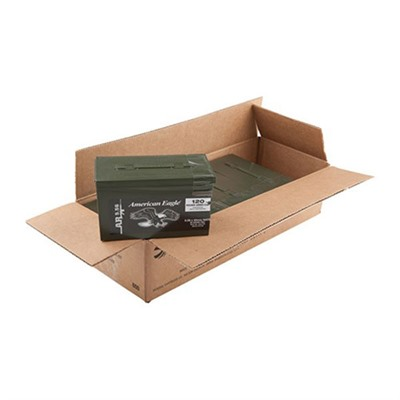 Click here to buy American Eagle Ammo 5.56x45mm Nato 55gr Xm193 Mini Ammo Cans by Federal.