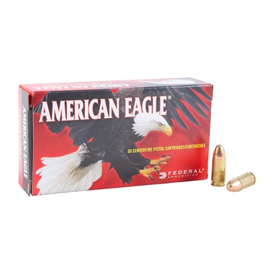 American Eagle Ammo 9mm Luger 115gr FMJ Ammo by American Eagle