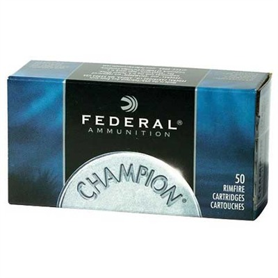 Champion Ammo 22 Long Rifle 40gr Lead Round Nose by Federal