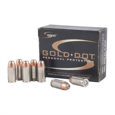 Click here to buy Speer Gold Dot Ammo 380 Auto 90gr Hp by Speer.