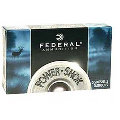 Power-Shok Ammo 12 Gauge 2-3/4 & Quot; 00 Shot by Federal