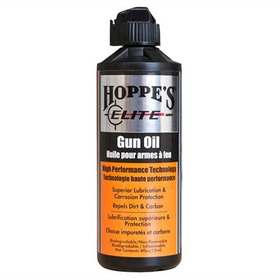 Click here to buy Elite Gun Oil by Hoppes.
