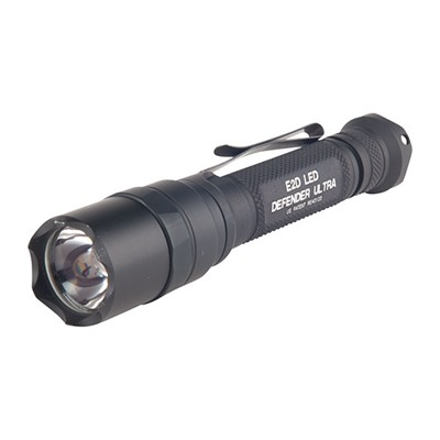 Click here to buy LED Defender Ultra Dual-Output Flashlight by Surefire.