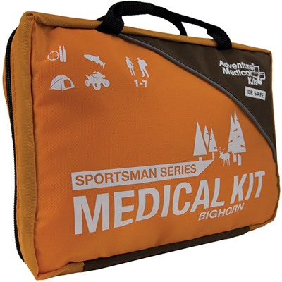 Click here to buy Bighorn Sportsman Series First Aid Kit by Adventure Medical Kits.