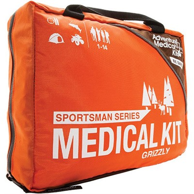 Click here to buy Grizzly Series First Aid Kit by Adventure Medical Kits.