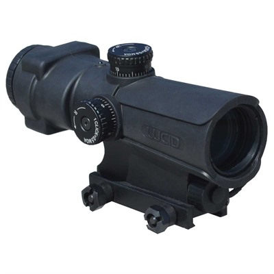 P7 4x Rifle Scope by Lucid Optics
