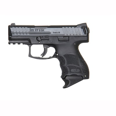 "Click here to buy Vp9sk 9mm Black 3.39"" 10+1 (2) 10 Round Magazines by Heckler & Koch."