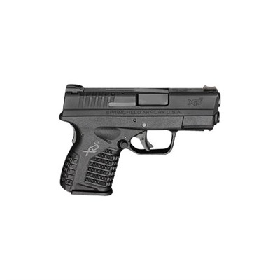 Xd-S Essentials Package 3.3in 9mm Polymer 3 Dot Fixed 8+1rd by Springfield Armory