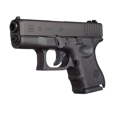 Click here to buy G33 3.46in 357 Sig Gas Nitride 9+1rd by Glock.