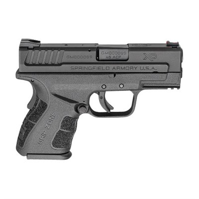 Xd Mod.2 Sub-Compact 3.3in 45 Acp Polymer 3 Dot Fixed 13+1rd by Springfield Armory