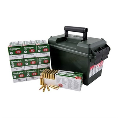 Umc Ammo 223 Remington 55gr FMJ Ammo Can by Remington
