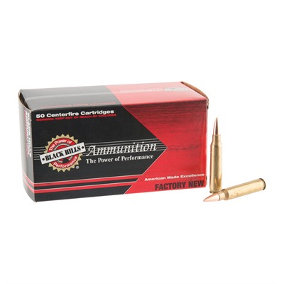Click here to buy 223 Remington 62gr Tsx Ammo by Black Hills Ammunition.