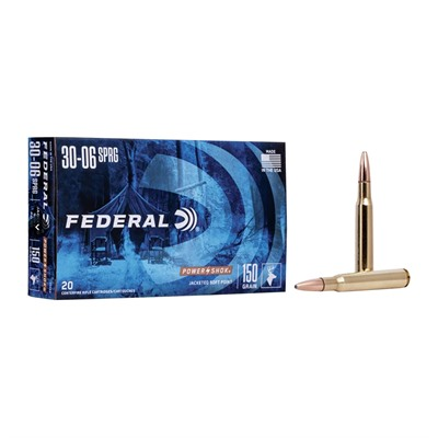 Power-Shok Ammo 30-06 Springfield 150gr Sp by Federal
