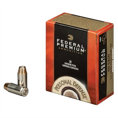 Personal Defense Ammo 9mm Luger 135gr Hydra-Shok by Federal