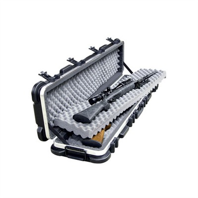 Click here to buy Skb Double Rifle Case with Wheels - 50 & Quot; Long by Skb Gun Case.