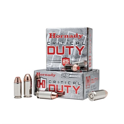 Critical Duty Ammo 357 Sig 135gr Flexlock by Hornady