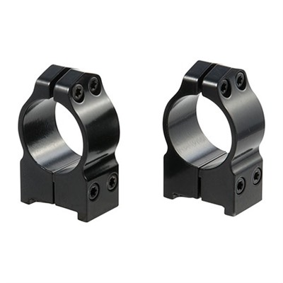 Maxima Grooved Receiver Line Fixed Ruger Rings by Warne Mfg. Company