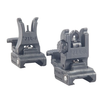 AR-15 Polymer Sight Set by A.r.m.s.,inc