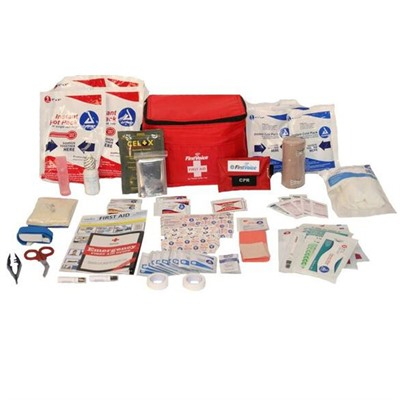 Click here to buy Deluxe Hiking and Outdoor First Aid Kit by Think Safe Inc.
