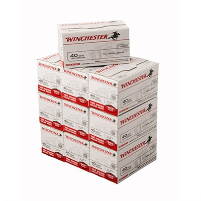 Usa White Box Ammo 40 S & w/ 165gr FMJ by Winchester