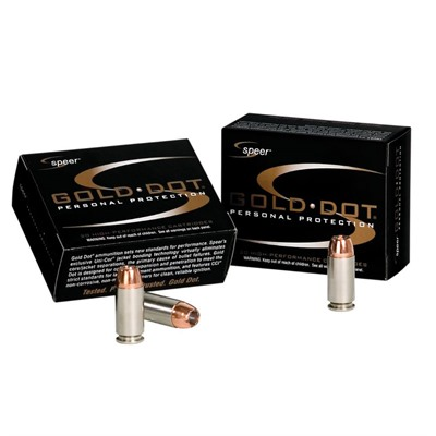 Gold Dot Ammo 357 Sig 125gr Hollow Point by Speer