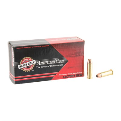 38 Special +p 125gr Jacketed Hollow Point Ammo by Black Hills Ammunition