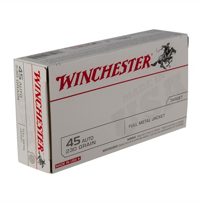 Usa White Box Ammo 45 Acp 230gr FMJ by Winchester