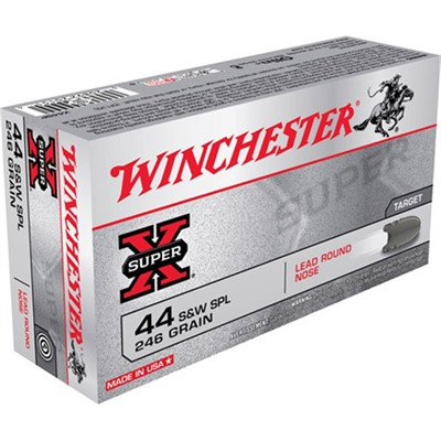 Click here to buy Super-X Ammo 44 Special 246gr Lrn by Winchester.