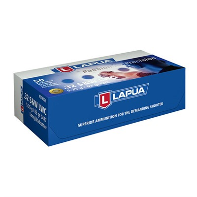Handgun Ammo 32 S & w/ Long 83gr Lwc by Lapua